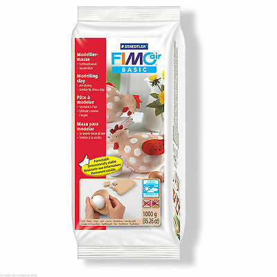 STAEDTLER FIMO AIR BASIC - AIR DRYING MODELLING CLAY (1kg) - FLESH