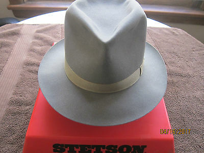 Vintage Stetson Playboy Hat 7 1/4 Forest Green Very Good Condtion Very Sweet!