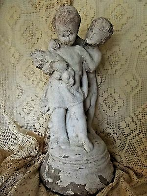 Antique French Putti/Cherub Statue FRANCE Garden Sculpture Statue