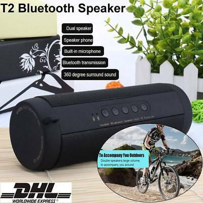 Bluetooth Wireless Lautsprecher Speaker USB TF Sound Box AUX Mp3 FM-Radio DHL