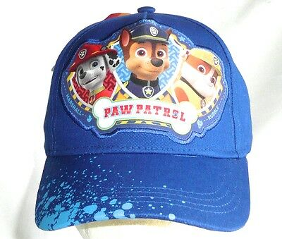 PAW PATROL Kids/Youth Adjustable Baseball Hat/Cap Blue  NEW