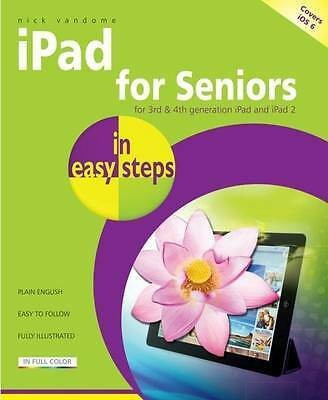 iPad for Seniors In Easy Steps 2nd Edition, cove, Vandome, Nick, New