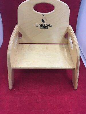 Exceptionnel CHAIRRIES Jonti Craft Wooden Booster Seat High Chair W/o Straps No Tray 14