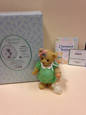 """Cherished Teddies """"Worth The Wait"""" Expectant Mother with Bunny New in Box"""