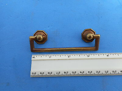 Nice Vintage Solid Brass Drawer Dresser Pull Antique French Style Karges Nice