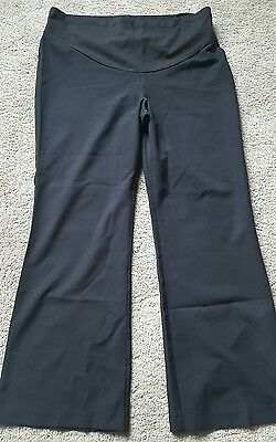 Maternity black trousers size 14 Dorothy Perkins