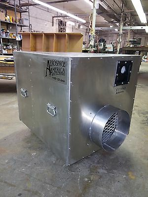 American Aerospace Econo 9143 2000 CFM Negative Air Machine HEPA Aeroclean