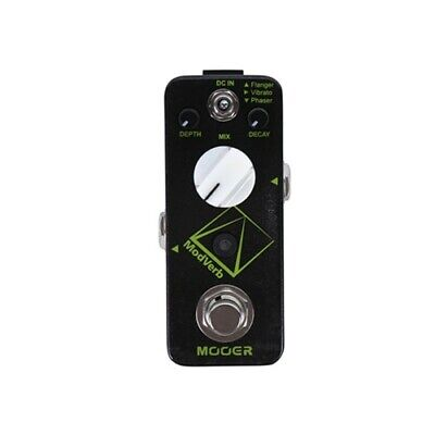 NEW Mooer ModVerb Modulated Reverb Pedal *US SELLER*