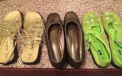women shoes, Lot of 3, Size 8 and 8.5
