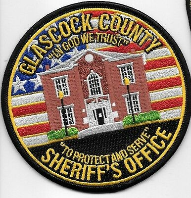 Glascock County Co Ga Sheriff Dept So Sd Gc In God We Trust Court House