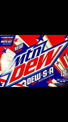 Mountain Dew.s.a Limited Edition Early Release 12 Pack
