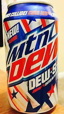 Mountain Dew.s.a New Unopened Single 12oz Can