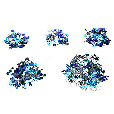 13th/16th/18th/21th Birthday Wedding Anniversary Party Table Confetti Decor SU