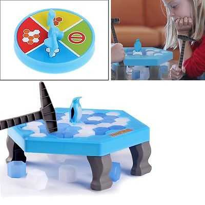 Child Penguin Trap Icebreaker Puzzle Desktop Knock Ice Block Family Funny Toy