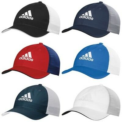 6a392195 2018 ADIDAS MENS Lightweight Climacool Flexfit Hat - New Golf Structured Cap  - $35.07 | PicClick