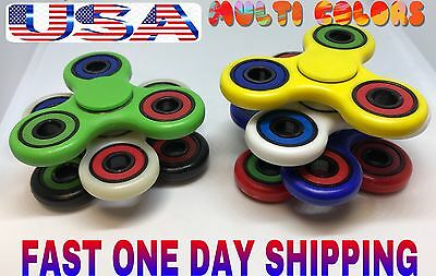 MULTI COLORS Spinner Fidget ceramic Si3N4 bearing 1-4 M spin,TOY,LOT,COLORS&GLOW
