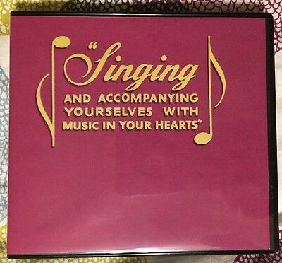 "Watchtower ""Singing and Accompanying Yourselves"" Jehovah's Witnesses Music CD JW"