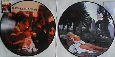 Picture-LP WITCHFINDER GENERAL Death Penalty - BOBV498PD - RSD 2017 - MINT