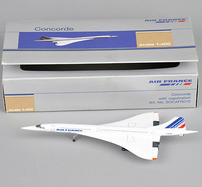 Concorde 1:400 Scale Air France 1976-2003 Diecast Metal Aircraft Plane Model