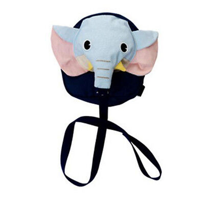 Cartoon Elephant Baby Toddler Anti lost Leash Harness Strap Walker Baby Backpack