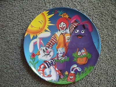 McDonald's Easter plate (Smiling sunshine) - collectible