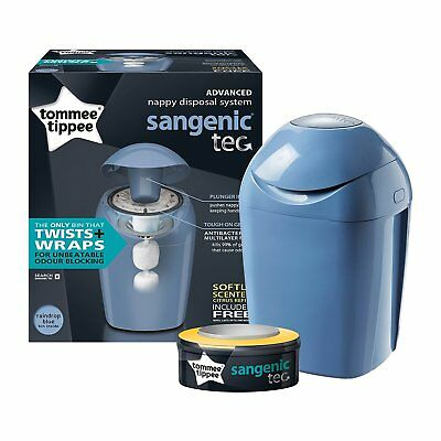 Tommee Tippee® Sangenic Tec Nappy Disposal Tub (Green)