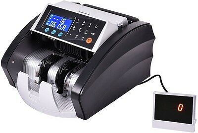 Bill Counter Machine Automatic Cash Money Currency Professional Count Detector