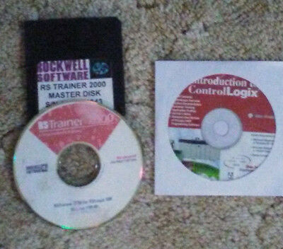 RSTrainer rs trainer  2000 Rockwell software ver 1.00.00 with master disk