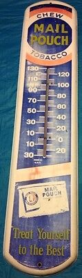 Vintage Mail Pouch Tobacco Thermometer great price!