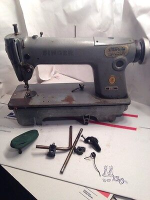 VINTAGE SINGER SEWING Machine Model 4040 Heavy Duty Industrial Enchanting Singer Sewing Machine 281 1