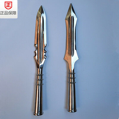 """15"""" Chinese Martial Arts Stainless Steel Spearhead Wushu Spear Head KungFu Saber"""