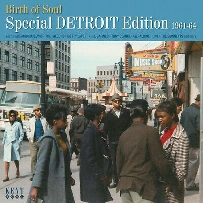 Birth Of Soul: Special Detroit Edition 1961-64 (2017, CD NEW)