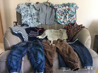 Bundle of Baby Boys Clothes  9 - 12 months