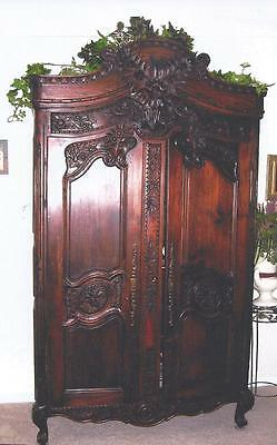 Antique French Armoire; PRICE REDUCTION!  MUST SELL