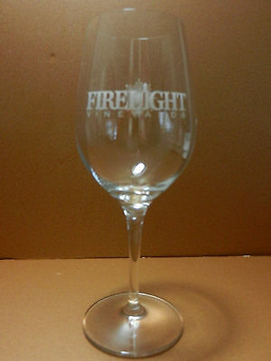 Firelight Vineyards Stemmed Crystal Winery Glass Valley View Texas