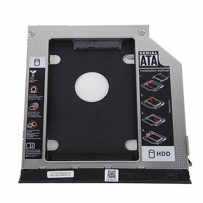 2nd HDD Bracket for Dell E6420 E6520 E6320 E6430 With Ejector + Bezel F7J4