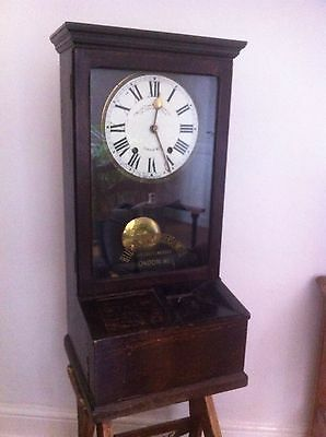 Blick Time Recorder Clocking In Machine, London Vintage