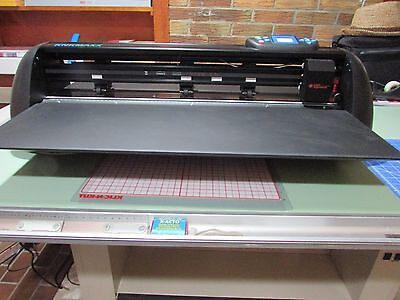 VINYL and SUBSTRATE PLOTTER CUTTER 24 inch KNK MAXX AIR