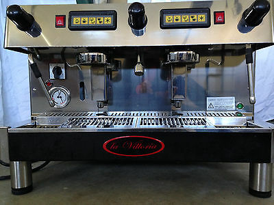 La Vittoria Commercial Coffee/Espresso 2 Group Machine