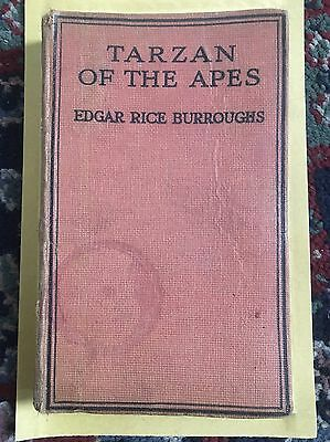 Antique Tarzan Of The Apes Book
