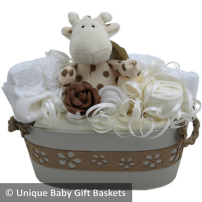 Baby gift basket/hamper unisex neutral baby shower new baby gift maternity gift