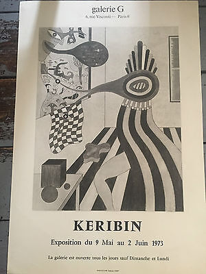 Vintage French Art Poster 1970's