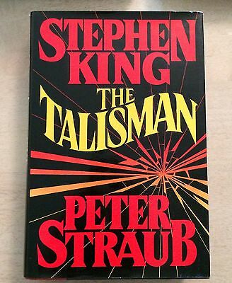 STEPHEN KING - THE TALISMAN - FIRST EDITION HARDCOVER BOOK 1st print hc/dj hb