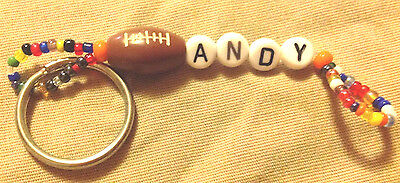 Boys Or Men's Personalized Keychain Or Zipper Pull With The Name Andy-New Unused