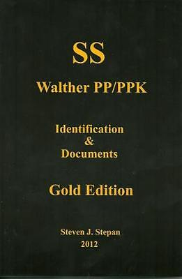 SS Walther PP/PPK Black Book-Gold Edition
