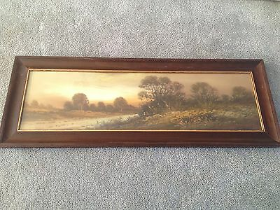 Original Pastel Landscape Drawing Chandler Style 1915 American Artist Unknown