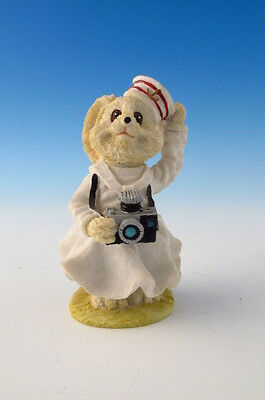 RABBIT FIGURINE FROM THE ARIELA COLLECTION rabbit with a camera