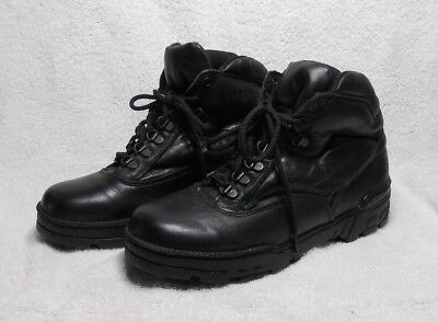 Thorogood Men's Hi Top Leather Boots size 8 1/2 W cross trainer shoes postal