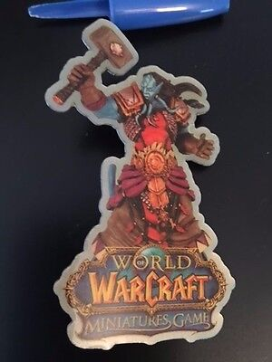 UDC 2008 World of Warcraft Miniatures Game Pin FACTORY SEALED - Blizzcon
