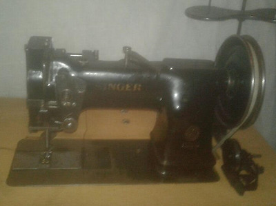 Industrial Sewing Machine Model Singer 144WSV36 walking foot- Leather